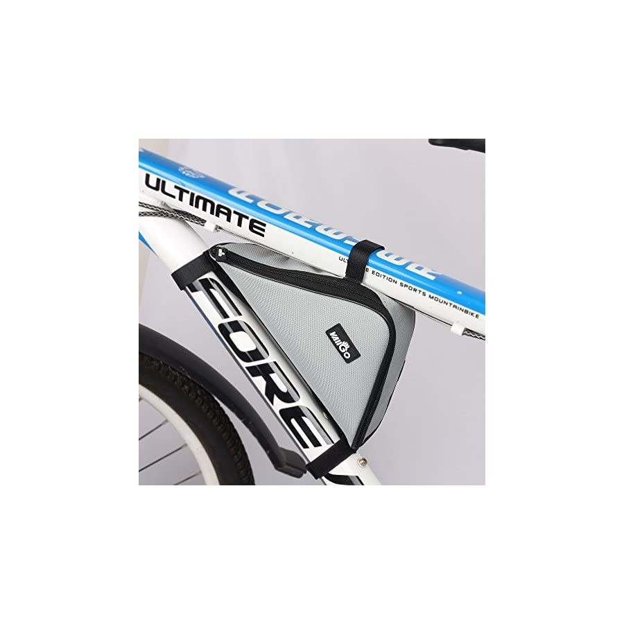 VAIIGO Bicycle Triangle Frame Bag Triangle Bicycle Top Tube Bag