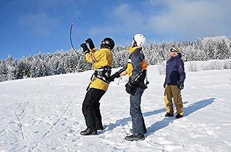 Geschenk zu Weihnachten Snowkiting Jochen Schweizer Geschenkgutschein