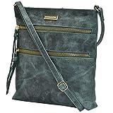 Leather Crossbody Purse for Women - Handmade Cross Body Bag Over the Shoulder Womens Handbag by Estalon