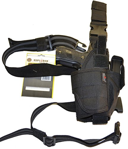 Military Outdoor Clothing New Black Drop Leg Holster