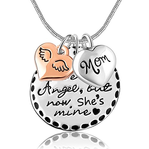Unisex Jewelry Angel Cremation Necklace product image