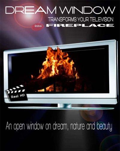 (FIREPLACE hd tv screen saver ambience movie)