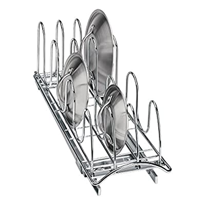 Lynk 430021 Roll Out Lid Holder 7.25W x 21D x 9H in.