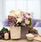 Lavish Lavender Spa Gift Box w/Yardley Lavender Soap