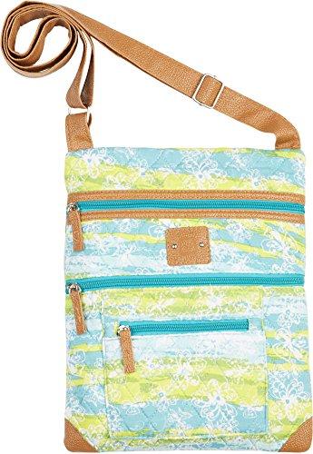 stone-mountain-white-flower-lockport-handbag-one-size-blue-yellow