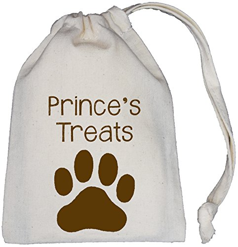 Bag Sizes Cotton Bag SUPPLIED Treat Cream Natural Dog Drawstring 3 Personalised EMPTY aq1wZ7qE