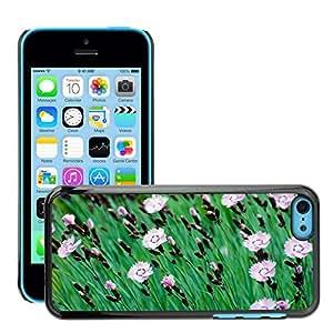Print Motif Coque de protection Case Cover // M00156607 Macro de flor de primavera y verano que // Apple iPhone 5C