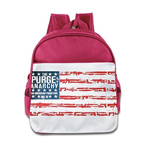 Logon 8 Purge Anarchy Flag Lovely Bag Pink For 3-6 Years Olds - Stewart Duff