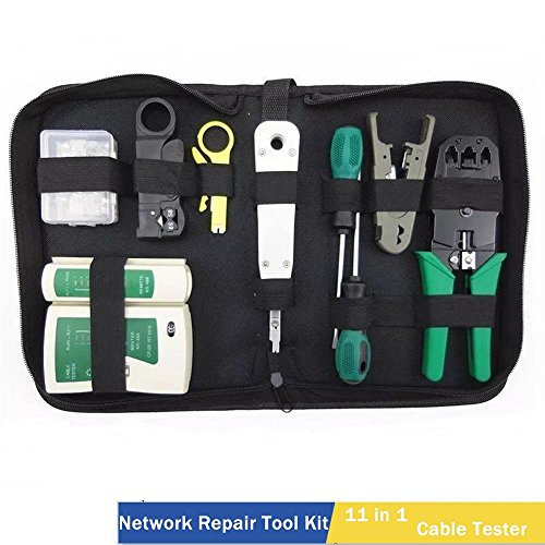 Computer Network Repair Tool Kit LAN Cable Tester Wire Cutte