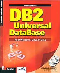 DB2 Universal DataBase. Pour Windows, Linux et Unix