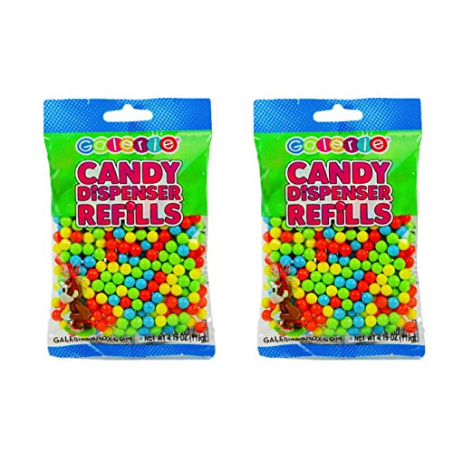 Candy Pooping Refills - Candy Balls for Candy Dispenser Refills - 2-4.19 oz ()