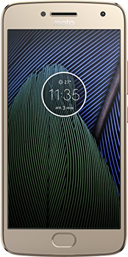 Motorola XT1681 Smartphone Moto G5 Plus color Oro. Double SIM, Desbloqueado Nacional