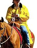 Double S Men's Adult Saddle Slicker Yellow X-Large