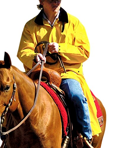 Double S Men's Adult Saddle Slicker Yellow X-Large ()