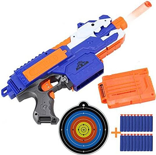 Sniper Rifle Nerf Plastic Gun Soft Bullet Toy Gun 20 Bullets 1 Target Electric Gun Toy Christmas Birthday Gift Toy For Child (Plastic Guns With Bullet compare prices)