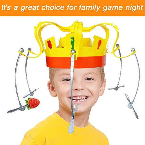 PSFS ノベルチャウクラウンフードゲームおもちゃ ファミリーパーティー ノベルゲーム 音楽スピニングクラウン スナック 食品パーティー ファミリーゲーム PSFS