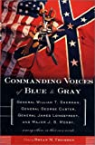 Commanding Voices of Blue and Gray, Brian M. Thomsen, 0765305836