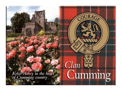 - iLuv Cumming Scottish Clan Metallic Picture Fridge Magnet
