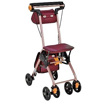 LXD Carro, andador con asiento, aleación de aluminio ultraligera ...