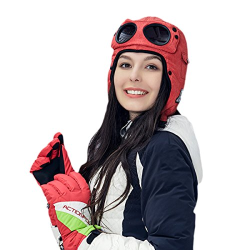 De 4478MediumGray Cuero Lana Hombre De Sombrero A Prueba Bombardero Esquí Impermeable Gorras Libre De Sombreros De Ruso Caliente Mantener Al Invierno De Aire Gorra Gorros Viento De De qOpz6Wdw