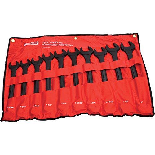Ironton Jumbo Wrench Set - 10-Pc SAE