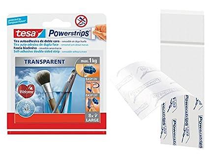 Amazon.com: Tesa 948871 - Tiras adhesivas (8 unidades ...