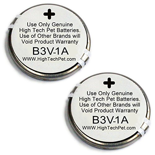 High Tech Pet Single Electronic Collar Battery for Model MS-4 and MS-5, 2-Count by High Tech Pet