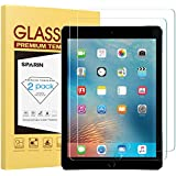 "[2 Pack] New iPad 9.7"" (2018 & 2017) / iPad Pro 9.7 Screen Protector, SPARIN Tempered Glass Screen Protector - Apple Pencil Compatible/High Definition/Scratch Resistant"