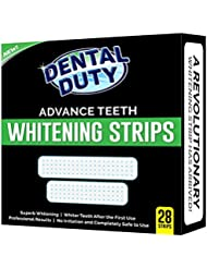 Professional Teeth Whitening Strips- Pack of 28- Whiten Your Tooth With The Best 3D Dental Whitestrips- Removes Coffee, Tea & Tobacco Stains From Teeth. Get Better Results Than Crest White Strip