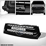 2014 tundra grill - HS Power Glossy Black Tr-D Style Front Hood Bumper Grill Grille Cover 14-18 Toyota Tundra