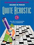 Quote Acrostic, Charles Preston, 0399527923