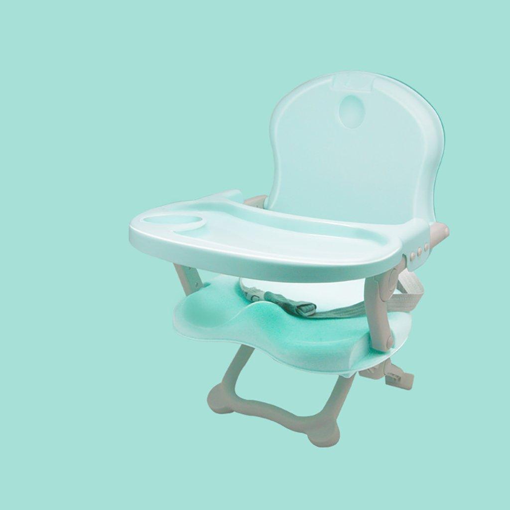ベビーヘルスケアブースターシート - 多機能ポータブル折りたたみ式ベビーベース2-In-1シート - ゴーブースターのシートとゲームテーブルのベストギフトのおもちゃ  Green B07FSV5SCR