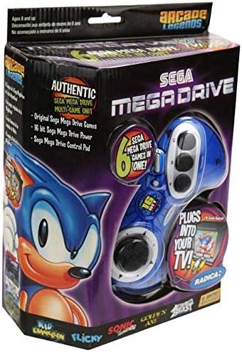 Sega Genesis Radica Plug and Play 6 Games-In-One by Radica: Amazon.es: Juguetes y juegos