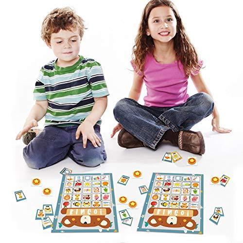 Fun Bingo Game Bingo Cards for Kids Perfect for Christmas Halloween Birthday and Class Activities
