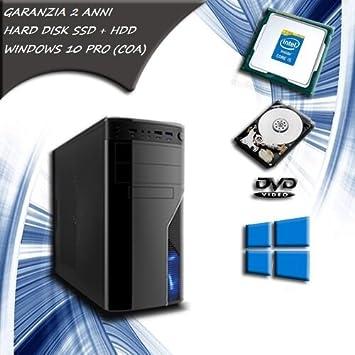 Computer Fijo Intel Core i5 Quad Core PC Desktop SSD 120 HDD ...