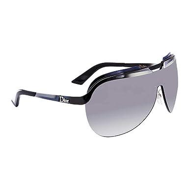 Amazon.com: Dior anteojos de sol solar/S 06ou Negro Blanco ...