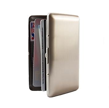 2 Stück 2 Farben Visitenkartenetui  Etui für Kreditkarten Bankkarten EC-Karten