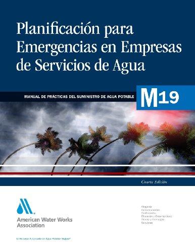 Descargar Libro Planificacion Ante Emergencias Para Empresas De Servicios De Agua Awwa (american Water Works Association)