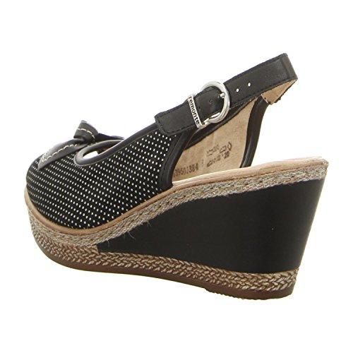 Remonte - Sandalias de vestir para mujer negro negro 36