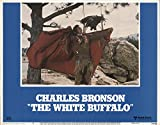 "The White Buffalo 1977 Authentic 11"" x 14"" Original Lobby Card Very Fine Charles Bronson Western"