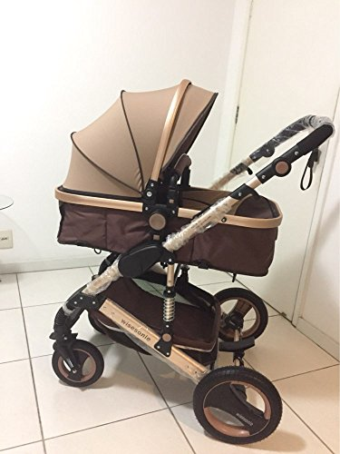 0--36 months baby stroller 2 in 1 stroller lie or damping folding light weight Two-way use four seasons (1) by wisesonle (Image #1)