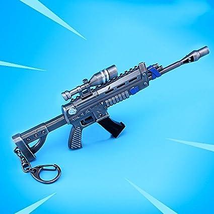 Amazon.com: mankecheng juegos Metal, 1/6 Pistola de rifle de ...