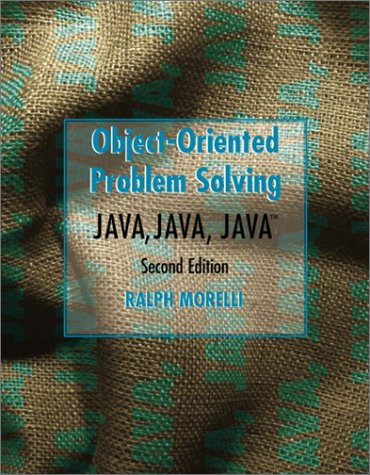 Java, Java, Java Object-Oriented Problem Solving (2nd Edition)