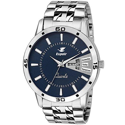 buy espoir analog blue dial men s watch esp786000 online at low