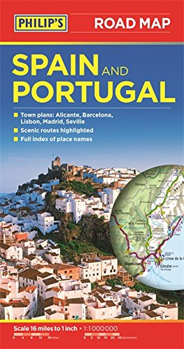 Philip's Spain and Portugal Road Map PDF