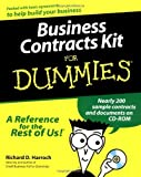 img - for Business Contracts Kit For Dummies by Richard D. Harroch (2000-04-27) book / textbook / text book