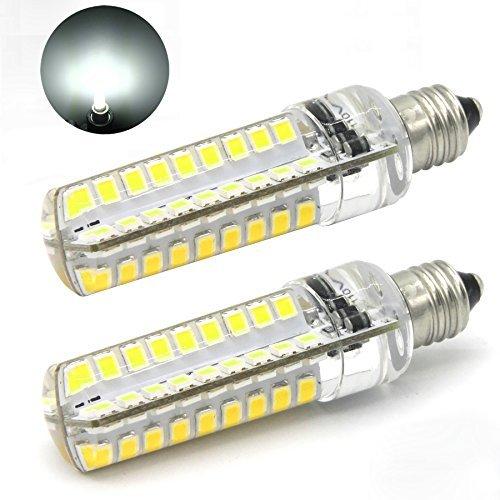 McDen® 120 V halógena tipo de JD mini-de candelabro E11 bombilla, esmerilado, 5 vatios LED,50 vatios