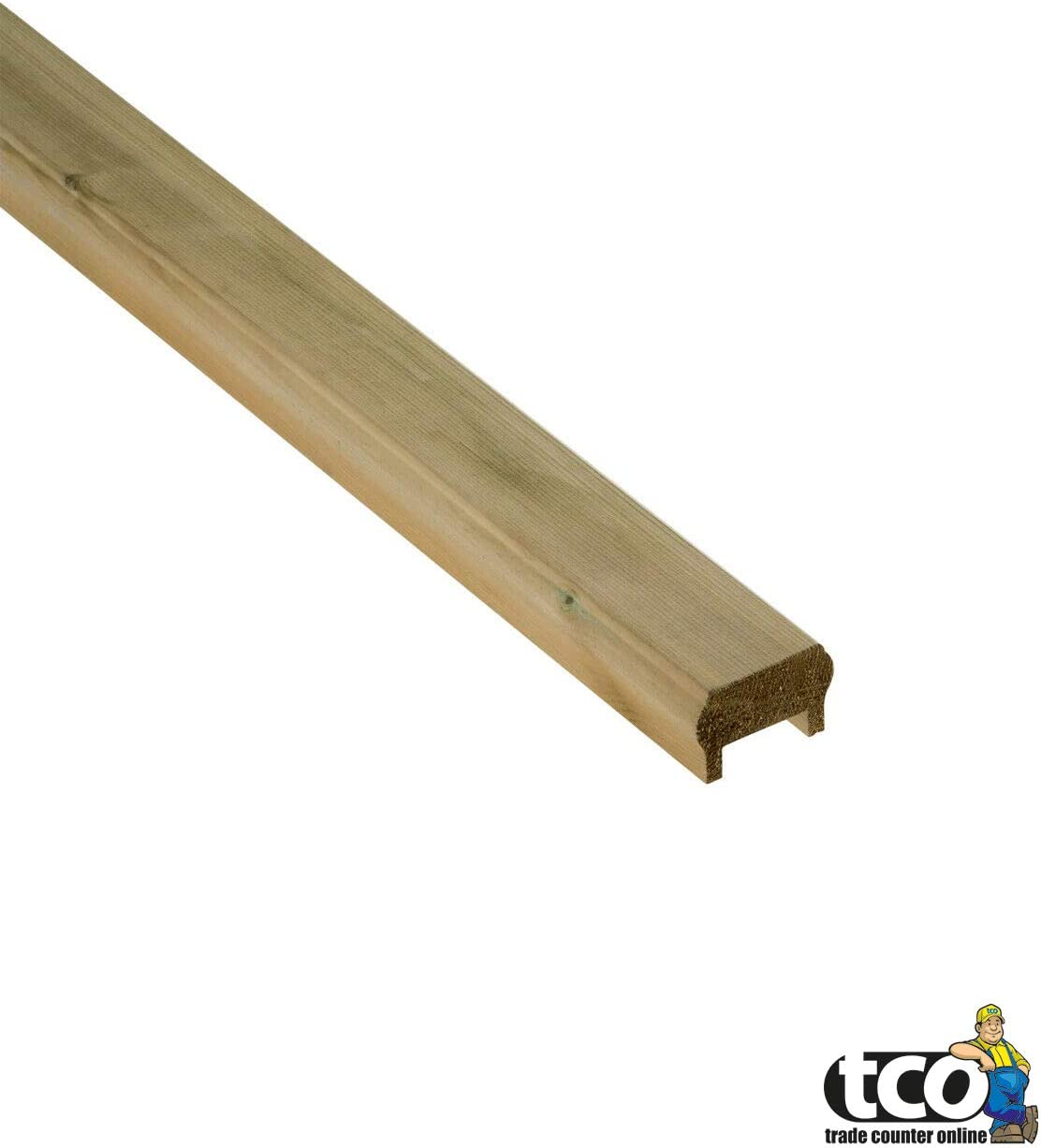 Base Rail 1800mm 1.8m Decking Panel Wooden Decking Handrail