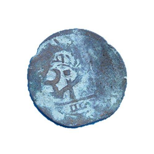ES 17th Century Spanish Colonial Caribbean Pirate Era Cob #27 Coin Good Details