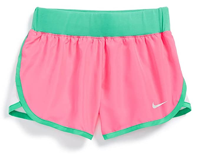 the best attitude 6c907 99aee Nike Tempo Shorts Girls Pink ow (6x little kids)
